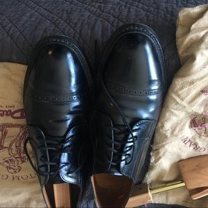 Other - Men's black leather dress shoes